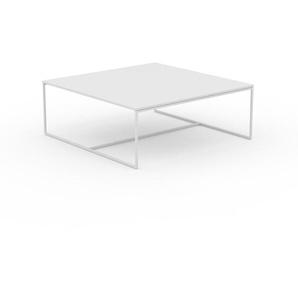 Beistelltisch Weiß - Eleganter Nachttisch: Hochwertige Materialien, einzigartiges Design - 121 x 46 x 121 cm, Komplett anpassbar