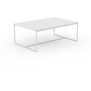 Beistelltisch Weiß - Eleganter Nachttisch: Hochwertige Materialien, einzigartiges Design - 121 x 46 x 81 cm, Komplett anpassbar