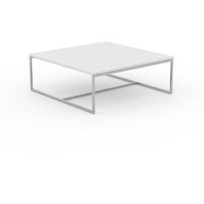 Beistelltisch Weiß - Eleganter Nachttisch: Hochwertige Materialien, einzigartiges Design - 81 x 31 x 81 cm, Komplett anpassbar