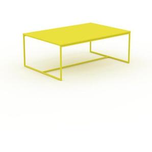 Beistelltisch Zitronengelb - Eleganter Nachttisch: Hochwertige Materialien, einzigartiges Design - 121 x 46 x 81 cm, Komplett anpassbar