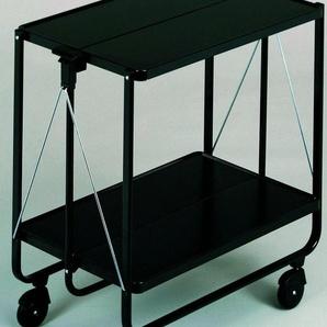 Beistellwagen , schwarz, 7,5x72cm, »Side-Car Color«, Leifheit