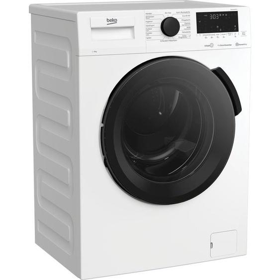 BEKO Waschmaschine WMC91464ST1, 9 kg, 1400 U/min, Energieeffizienz: A