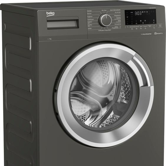BEKO Waschmaschine WML71463PTEMG1, 7 kg, 1400 U/min, Energieeffizienz: D