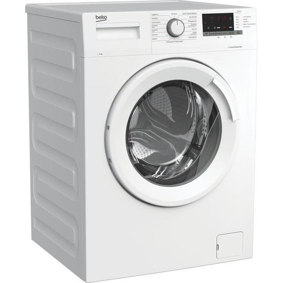 BEKO Waschmaschine WMO6221 7146543700, 6 kg, 1400 U/min, Energieeffizienz: D