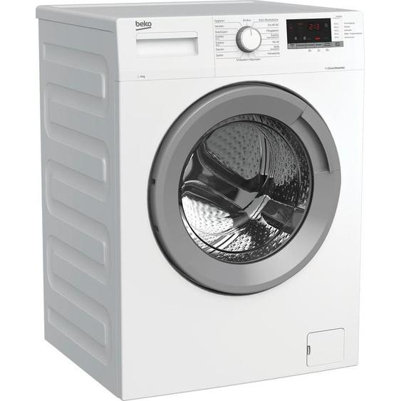 BEKO Waschmaschine WMO8221, 8 kg, 1400 U/min, Energieeffizienz: C