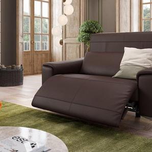 BELLA Relax Couch kompakt & hochwertig Ledersofa