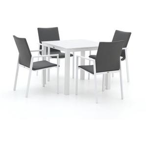 Bellagio Barano/Menzano 90 cm Esstischgruppe 5-teilig