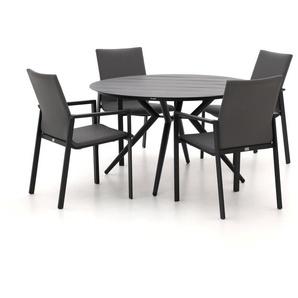 Bellagio Barano/Sora Ø127cm dining tuinset 5-delig stapelbaar
