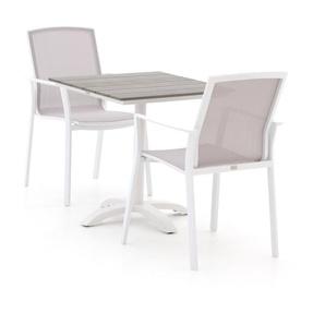 Bellagio Dranera/Lisio 70 cm Esstischgruppe 3-teilig stapelbar