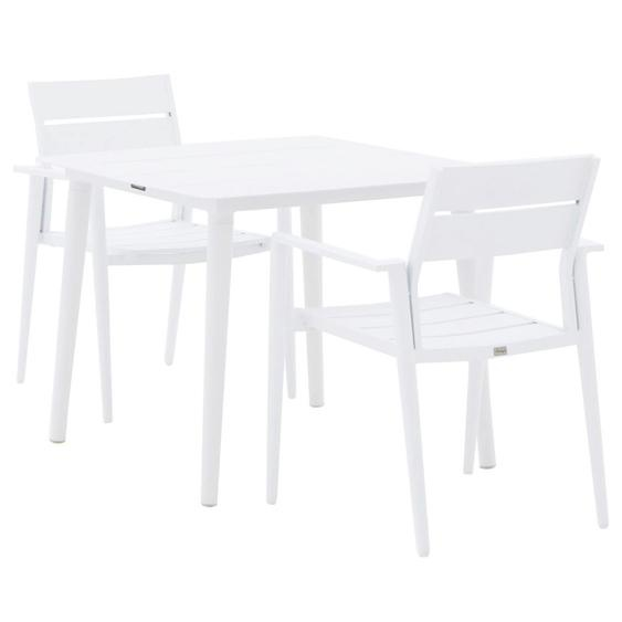 Bellagio Fondo/Sora 90 cm Esstischgruppe 3-teilig stapelbar