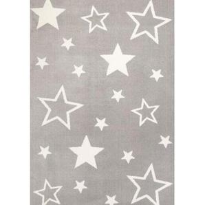 Bennjen Kinderteppich , Grau , Textil , 160 cm , Teppiche & Böden, Teppiche, Kinderteppiche