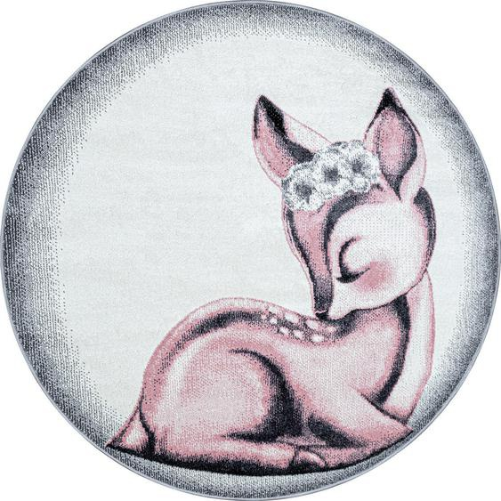 Bennjen Kinderteppich Rosa , Textil