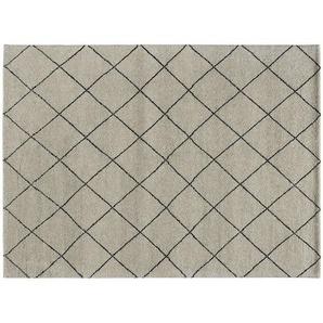 Berber-Teppich  Marrakesh Design simple ¦ grau ¦ reine Wolle ¦ Maße (cm): B: 70 Teppiche  Wohnteppiche » Höffner