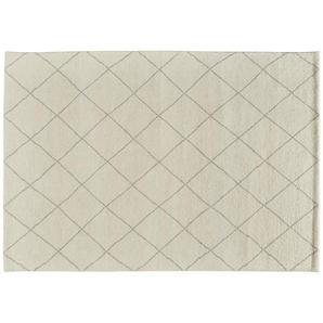 Berber-Teppich  Marrakesh Design simple ¦ weiß ¦ reine Wolle ¦ Maße (cm): B: 90 Teppiche  Wohnteppiche » Höffner