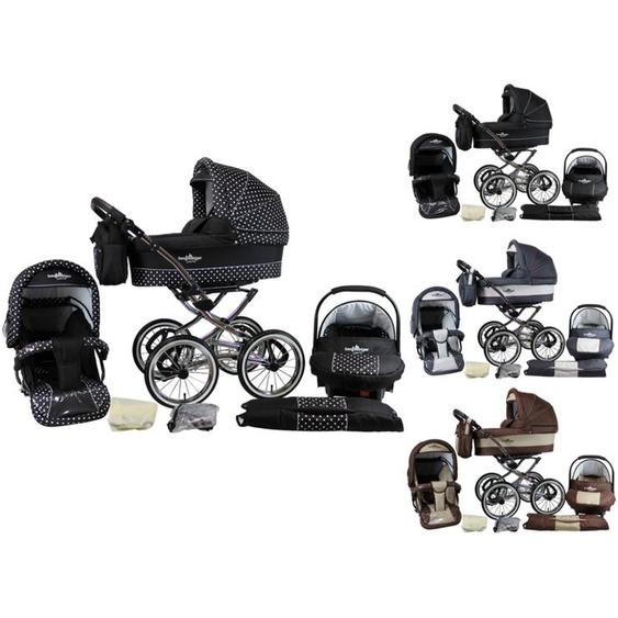 Bergsteiger 3-in-1 Kombi-Kinderwagen Venedig