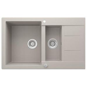 Bergstroem Küchenspüle »Granit Spüle Einbauspüle Spülbecken 800x500mm Beige«