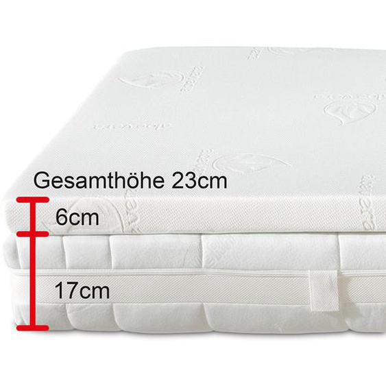 Best Schlaf Matratzen-Set »Komfort XXL« -Breite 100 cm x Länge 200 cm