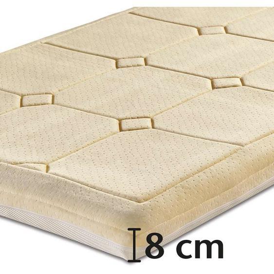 Best-Schlaf Visko-Mineralschaum Klima-Wendeauflage »PLUS«, 8 cm dick - 90 x 200 cm