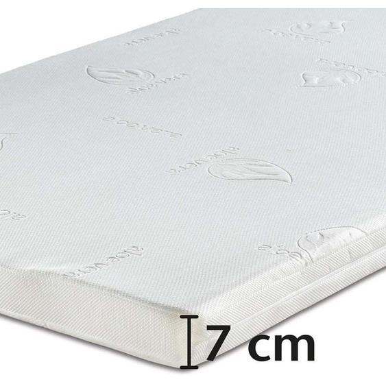Best-Schlaf Visko-Mineralschaum Matratzen-Wendeauflage »Komfort«, 7 cm dick, 1 Stück, 80 cm