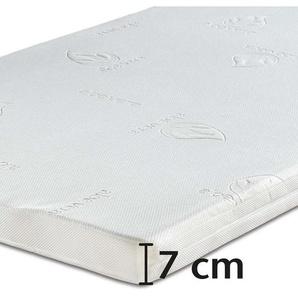 Best-Schlaf Visko-Wendeauflage, 7 cm dick, 1 Stück, 80 cm