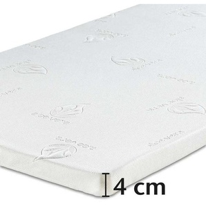 Best-Schlaf Visko-Mineralschaum Matratzenauflage, 4 cm dick, 1 Stück, 100x200 cm
