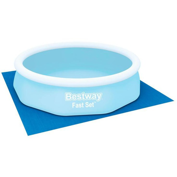 Bestway Flowclear™ quadratische Bodenplane
