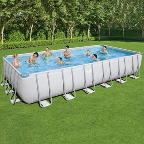 Bestway Rectangular Frame Pool Set 732 x 366 + Sandfilter 56475