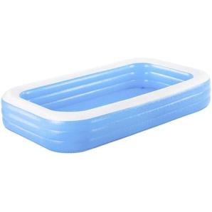 Bestway Schwimmbecken Blau , Kunststoff , 183x56x306 cm