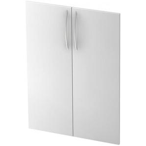 BETA 455T - Weiß 3 OH Paar Türen