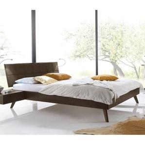 Skandinavisches Designbett Andros - 180x200 cm - Buche kirschbaumfarben