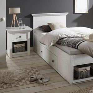 Home affaire Bett »California«, weiß, 90x200 cm, FSC-Zertifikat, , , FSC®-zertifiziert