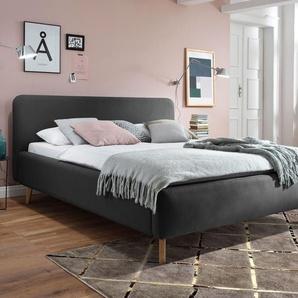 Polsterbett 180x200 cm, grau, weitere Farben & Größen bei BETTEN.de