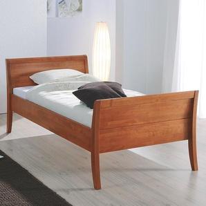Seniorenbett aus Holz - 100x200 cm - Buche natur - Einzelbett Cortina