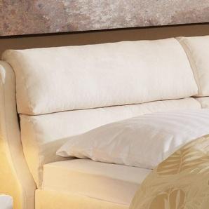 Polsterbett mit Bettkasten - 180x200 cm - violett - Bett Cremona