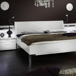 Dekorweißes Bett Huddersfield - 160x220 cm - weiß