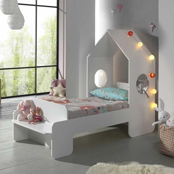 Bett in Haus Optik Kleinkinder