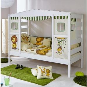 Bett Safari mit Vorhang, 90 x 200 cm