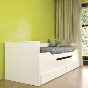 Funktionsbett Keewatin mit Schubladen, 90 x 200 cm