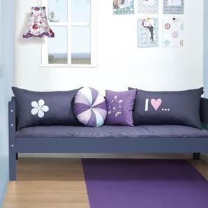 2-in-1 Bett und Sofa 90x200 cm in grün - Kids Town Color