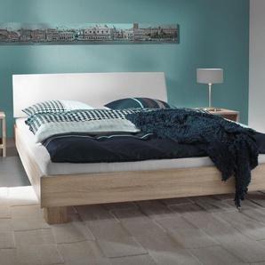 Futonbett Legano - 140x200 cm - weiß