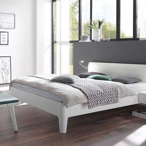 doppelbetten in weiss preise qualit t vergleichen m bel 24. Black Bedroom Furniture Sets. Home Design Ideas