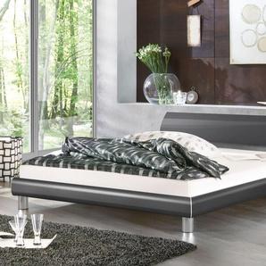 Designer Futonbett Novara - 90x200 cm - weiß