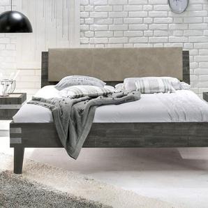 Bett Paraiso, Akazie weiß, 140x200 cm, ohne Metall-Beschläge