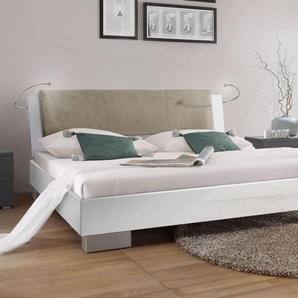 Design-Futonbett Piceno - 180x190 cm - weiß