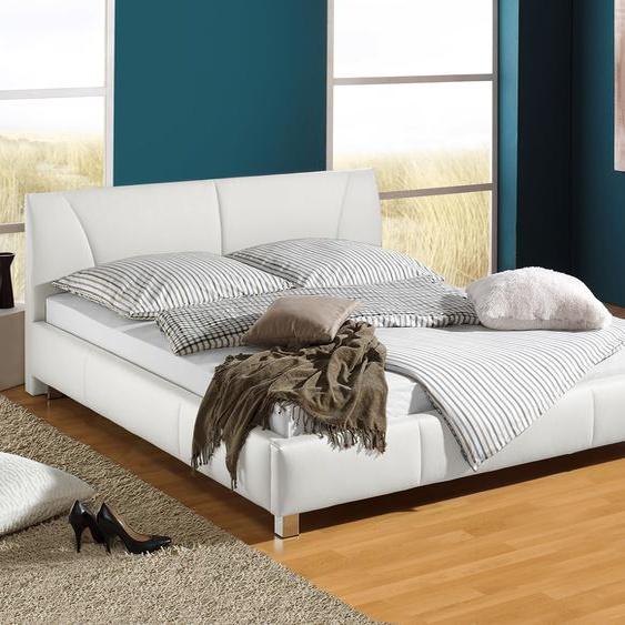 Bett Sona, weiß, 180x200 cm, ohne Lattenrost und Matratze