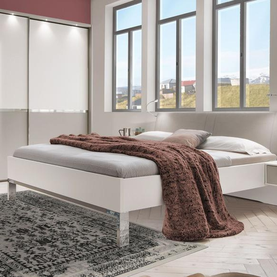 Bett Tulsa, weiß, 160x200 cm