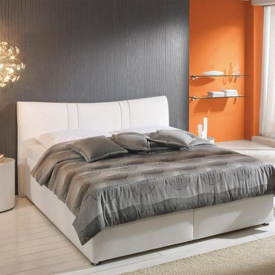 Bett Venetien, blau, 100x200 cm, Bettrahmenhöhe 36 cm, mit Matratze