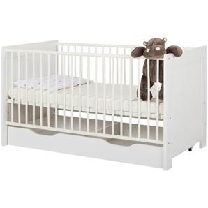 Bettkasten | weiß | 138 cm | 16 cm | 62 cm | Möbel Kraft