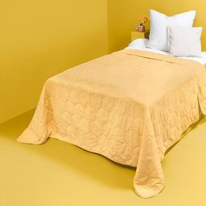 Bettüberwurf - gelb -