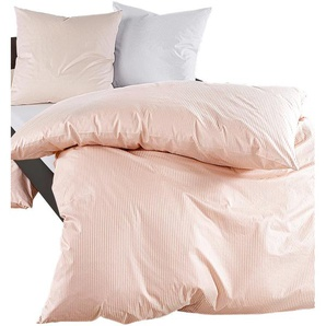 Bettwäsche B/L: 135 cm x 200 cm, Bettbezüge: 1 St. Kissenbezüge: St., Damast, 80 braun Damast-Bettwäsche nach Material Bettwäsche, Bettlaken und Betttücher